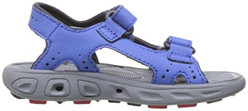 ColumbiaYouth Techsun Vent - sandalias de senderismo para chico stormy blue/mountain red