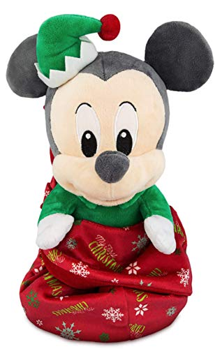 Disney Parks Mickey ''My First Christmas'' Plush with Blanket Pouch