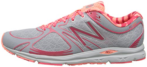 888546348691 - New Balance Women's W1400 Glow in Dark Running Shoe,Silver/Orange,12 B US carousel main 4