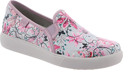Footwear Klogs Women's Patent Leather Reyes Graphic Floral Shoe 76Bdw16Fq