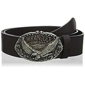 Wrangler Men's Eagle Buckle Belt