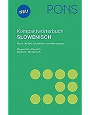 PONS Kompaktwörterbuch Slowenisch: Slowenisch - Deutsch / Deutsch - Slowenisch. Rund 140.000 Stichwörter und Wendungen