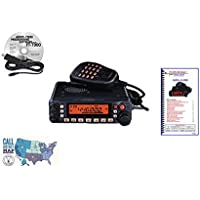 Yaesu FT-7900R Radio - Programming Software/Cable - Nifty Guide Ham Guides Pocket Reference Card Bundle!