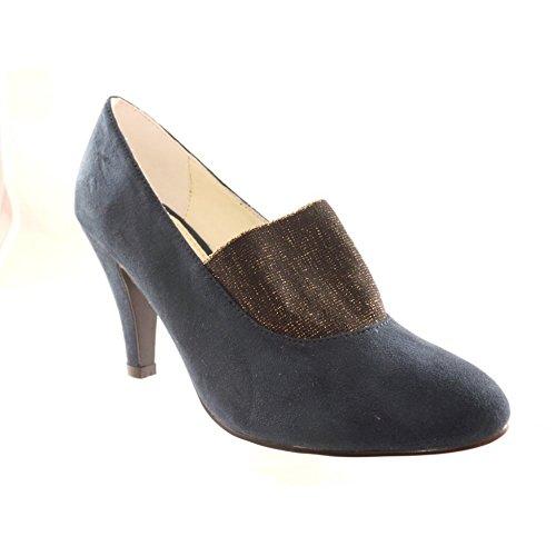 Zapatos azul marino Lotus para mujer HmEZ1jfL8
