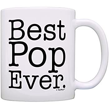 Amazon Father s Day Gift for Grandpa Best Pop Ever Gift Coffee