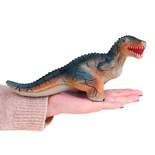 Baulody Dinosaur Stress Relief Toys for Kids and Adults: Best Dinosaur Squeeze Toy for Stress Reduction- 3 Dinosaur Stress Balls in 1 Pack Idea, Adorable Party Favor, Fun & Soft Novelty Pressure (G) -
