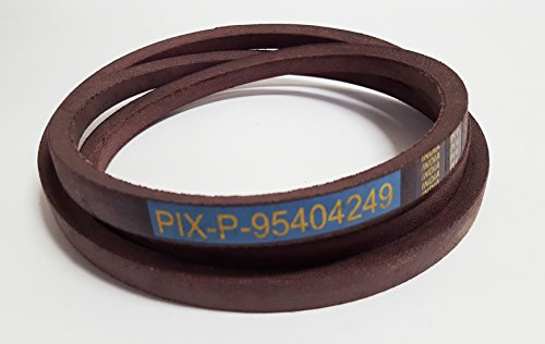 Pix Belt Made To FSP Specs To Replace 754-04249, 954-04249, 754-04249A, 954-04249A: Front Variable Drive Belt MTD Cub Cadet Troy-Bilt - Belt Pix