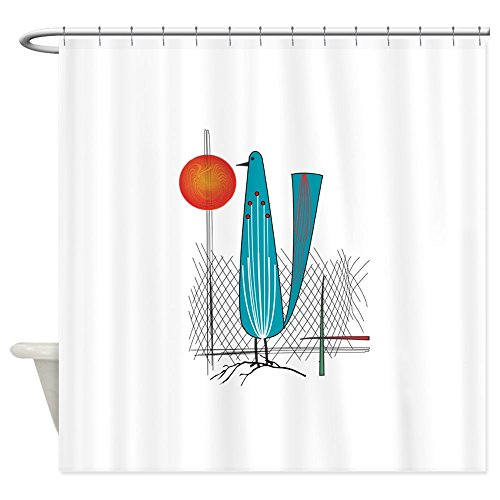 CafePress – Mid-Century Modern – Decorative Fabric Shower Curtain (69″x70″) 41aZA9HLhvL
