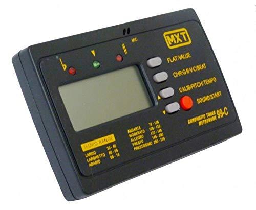 AFINADOR DIGITAL MXT PARA INSTRUMENTO C/METRONOMO ET-99C