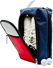 Zippa Golf Shoe Bag I Stylish Golf Shoe Bags with Pockets I Golf shoes Bag for Men and Women, Personalized Gol