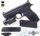Military-Grade Gun Magnet 2-Pack | 40lbs Rated | HQ Rubber Coated Magnetic Gun Mount for Handgun, Shotgun, Rifle. Easy Conceal in Car, Truck, Safe. Strong Magnetic Holster. Maximum Grip. (Black)