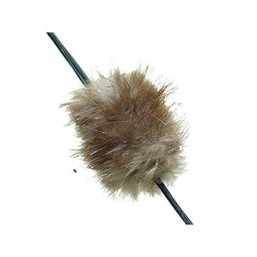 Mountain Man Beaver Balls String Silencer (Brown Beaver Mens)