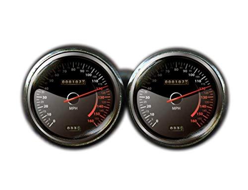 CuteTRex jewelry Speedometer Cufflinks, Race Car Cufflinks, Car Cufflinks