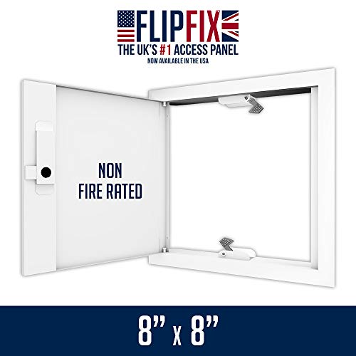 FlipFix Metal Faced Access Panel with Picture Frame Surround - Non Fire Rated 8