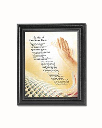 Cheap  Plan of the Master Weaver Christian Religious Black Framed 8x10 Art Print