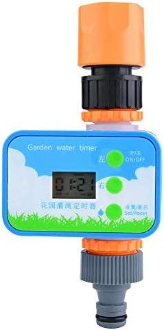 eecoo Bewässerungstimer, elektronischer automatischer Gartenbewässerungstimer Schlauchwassertimer, Sprinklersteuerung für den Hausgarten, Dachgarten, Rasen