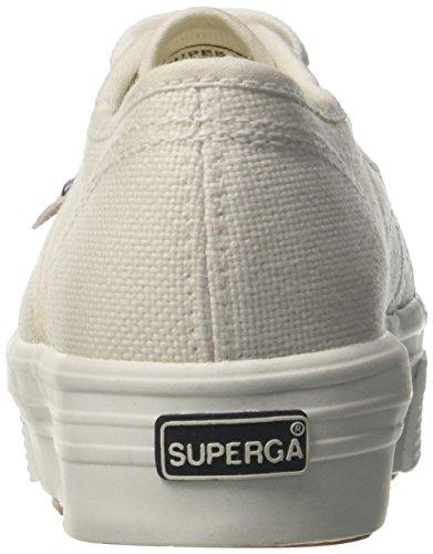 Niñas Superga 2790 white 901 Zapatillas Para cotj Blanco SwP4qO