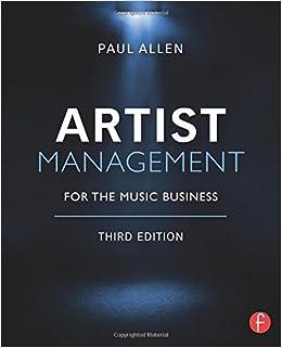 amazon artist management for the music business paul allen
