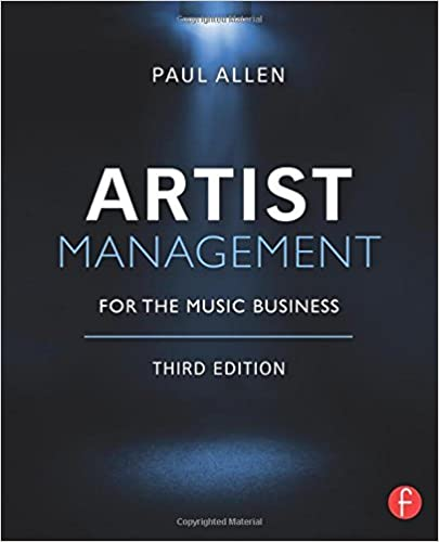 Artist Management for the Music Business: Paul Allen ...