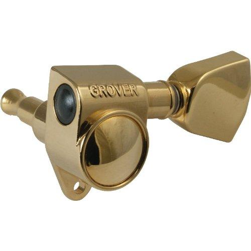 Tuner/Machine Head - Grover, Rotomatic, 3/Side, 14:1, Gold, Keystone