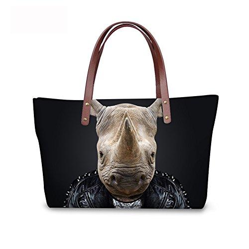Handbags C8wc0203al Handle Top Purse Women Foldable leather Bags Wallets FancyPrint Satchel PwaTBZZq