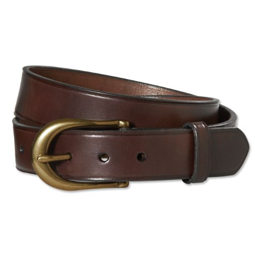 Orvis American Bridle Leather Belt, 46 - Inspired Bridle