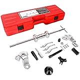 Orion Motor Tech 9-Way Slide Hammer Puller Set, Front Wheel Hub Bearing Remover & Rear Wheel Axle shaft Puller Tool Kit