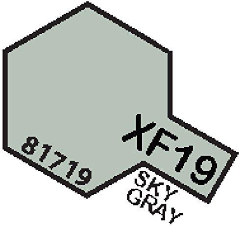 XF19 MIN Sky Grey - 10ml jar of Tamiya Color Mini Acrylic Paint