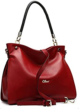 Cluci Women Handbags Genuine Leather Top-handle Tote Purse