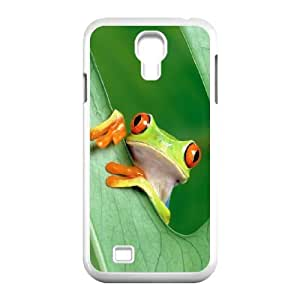 Samsung Galaxy S4 9500 Cell Phone Case White Frog S0397306
