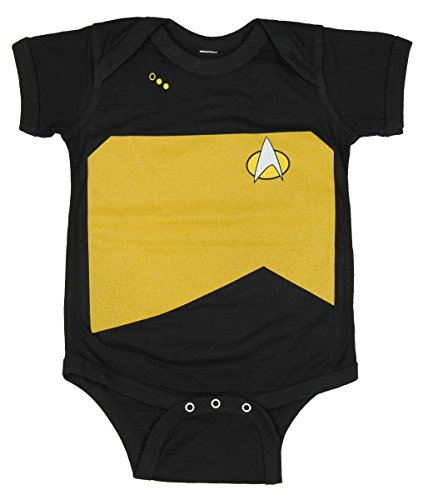 Star Trek The Next Generation Starfleet Uniform Baby Romper