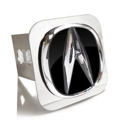Au-Tomotive Gold, INC. Acura OEM Style 3D Chrome Logo Tow Hitch Cover Plug by Au-Tomotive Gold, INC.