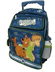 Scooby Doo Large Rolling Backpack - Shaggy