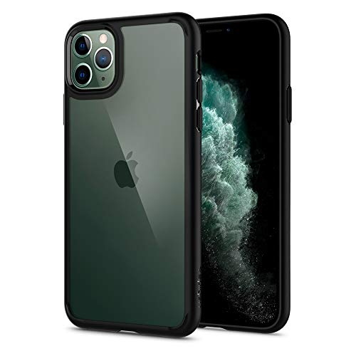 Spigen Ultra Hybrid Designed for Apple iPhone 11 Pro Max Case (2019) - Matte Black