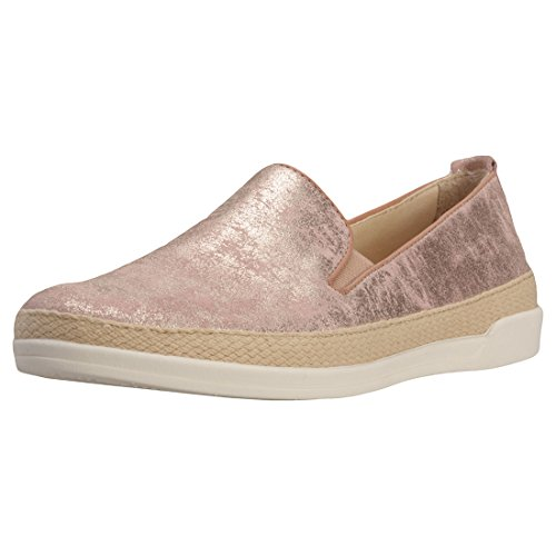 Caprice Matellic and Elasticated Panel Womens Slip On Rose - 4 UK 5gZRj7y7A
