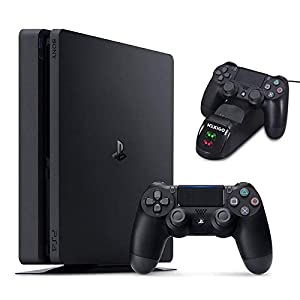 Best Epic Trends 41aZFWnV0EL._SS300_ NexiGo 2020 Playstation 4 PS4 Slim 1TB Console Holiday Bundle, Light & Slim PS4 System, 1TB Hard Drive with NexiGo…