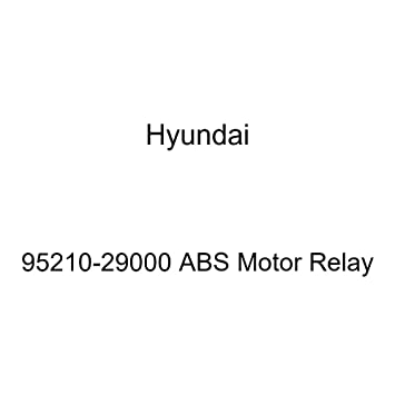 Amazon com: Genuine Hyundai 95210-29000 ABS Motor Relay