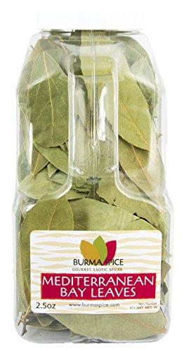 Mediterranean Bay Leaves : Laurel Leaf : Dried Herb Kosher 2.5oz. by Burma Spice (Image #3)