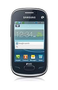 "Samsung S3802 3"" 89.2g Azul - Teléfono móvil (7,62 cm (3""), 240 x 320 Pixeles, TFT, 65536 colores, microSD (TransFlash), 2 MP)"