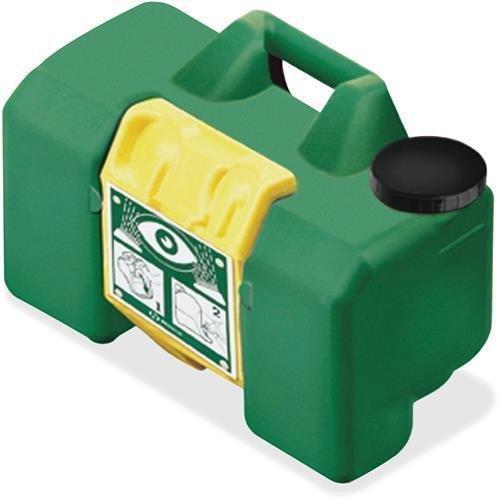 "First Aid Only M7501 Portable Eye Wash 15 Min HAWS 9 Gal Cap 12""x22""x10"" Green"