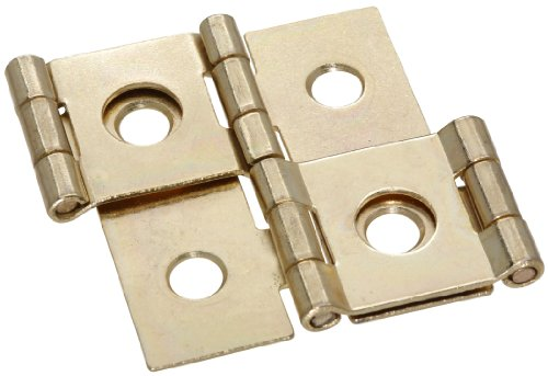 2 Way Hinges - Stanley Hardware S730-200 CD875 Double Acting Hinge in Brass, 3/4, 2 piece