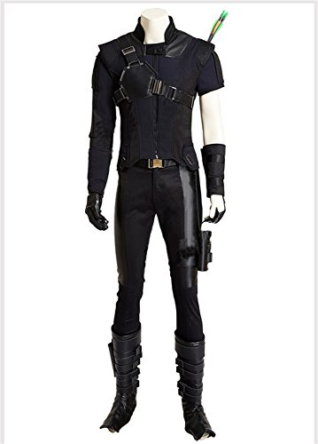 [Avengers Captain America Civil War Hawkeye Battleframe cosplay costume] (Captain America Uniform)