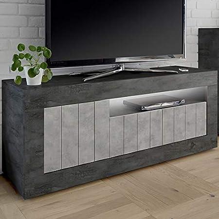 Kasalinea - Mueble para televisor Moderno, Color Gris: Amazon.es ...
