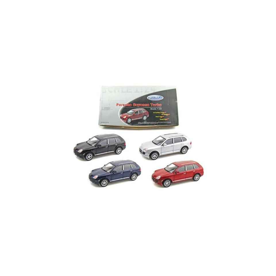 Porsche Cayenne Turbo 1/24 Set of 4