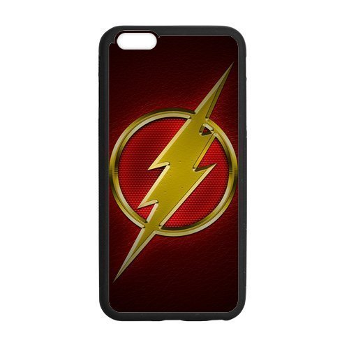 Price comparison product image Personalized iPhone 6 Case,  The Flash Comics Superhero iPhone Case,  Custom iPhone 6 Cover (4.7 inch)