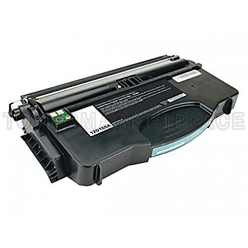 INKUTEN © Compatible Black Laser Toner Cartridge for Lexmark 12015SA (Optra e120 Series Printers) (Printers E120 Laser)