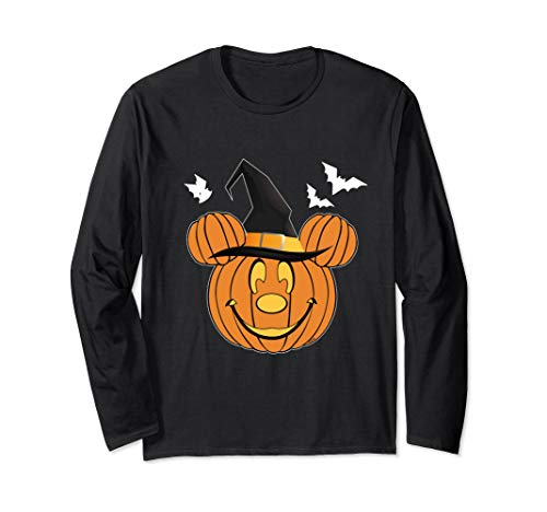 Funny Pumpkin Mouse Halloween Cotume Long Sleeve shirt