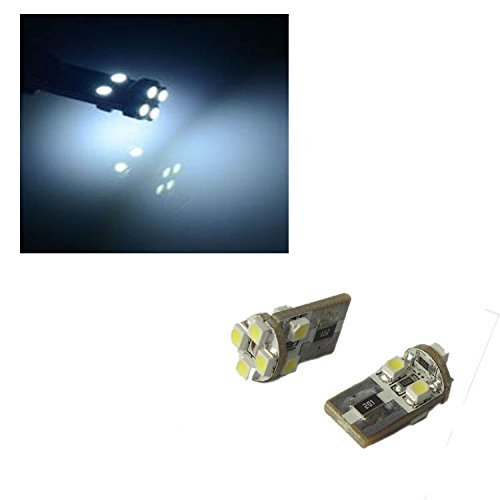 FORD S-MAX 2006 - 2012 - 8 SMD LED W5W 501 SIDELIGHTS T10 CANBUS ERROR FREE 1 X PAIR ALL001