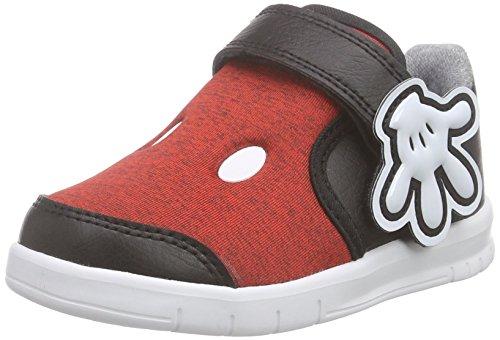 adidas Baby Jungen Disney M&m Lauflernschuhe Rot (Vivid Red S13/Eqt Yellow S16/Core Black)