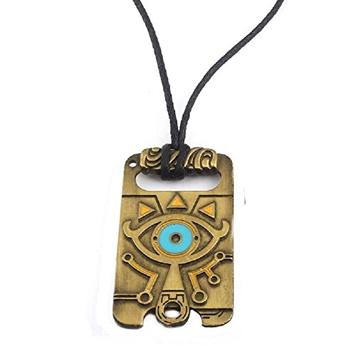 The Legend of Zelda Breath of The Wild Sheikah Eye Dog Tag Necklace -